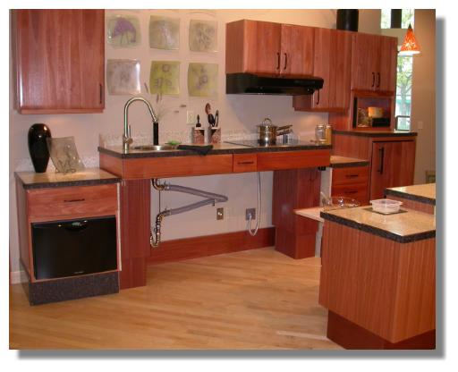 Tenant proof design a kitchen for every body universal design and kitchen appliances Kitchen design for elderly